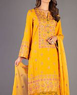 Yellow Karandi Suit