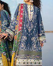 Cornflower Lawn Suit- Pakistani Lawn Dress