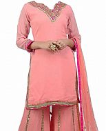 Pink Chiffon Suit- Indian Dress