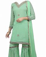 Mint Green Georgette Suit- Indian Dress