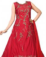 Red Silk Suit- Indian Dress