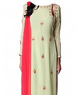 Light Green Georgette Suit- Indian Clothes