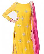 Yellow Chiffon Suit- Indian Dress