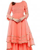 Pink Chiffon Suit- Indian Dress
