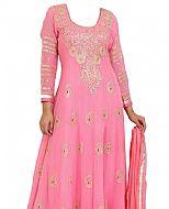 Pink Chiffon Suit