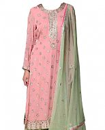 Baby Pink Georgette Suit