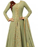 Light Green Chiffon Suit- Indian Dress