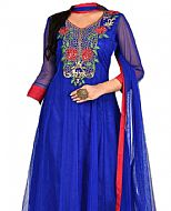 Blue Chiffon Suit- Indian Dress
