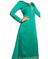 Sea Green Silk Suit