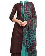 Chocolate Georgette Suit