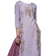 Lilac Georgette Suit- Indian Dress