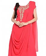 Pink Georgette Suit- Indian Semi Party Dress