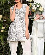 White Chiffon Suit- Pakistani Party Wear Dress
