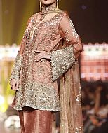 Tea Pink Chiffon Suit- Pakistani Formal Designer Dress