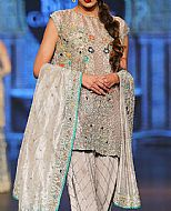 Ivory Silk Suit- Pakistani Party Wear Dress