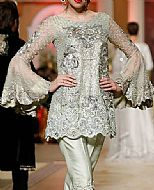 Light Green Chiffon Suit- Pakistani Formal Designer Dress