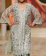 Light Sea Green Chiffon Suit- Pakistani Formal Designer Dress