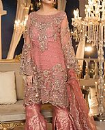 Tea Pink Chiffon Suit- Pakistani Wedding Dress
