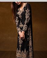 Black Chiffon Suit- Pakistani Formal Designer Dress