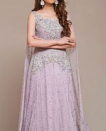 Lilac Crinkle Chiffon Suit- Pakistani Formal Designer Dress