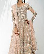 Sand Gold Oraganza Suit- Pakistani Wedding Dress