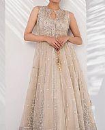 Light Golden Chiffon Suit- Pakistani Wedding Dress