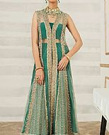 Emerald Green Net Suit- Pakistani Formal Designer Dress
