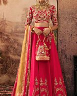 Hot Pink Silk Suit- Pakistani Formal Designer Dress