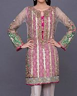 Magenta Net Suit- Pakistani Party Wear Dress