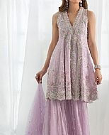 Lilac Crinkle Chiffon Suit- Pakistani Wedding Dress