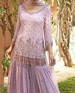 Lilac Crinkle Chiffon Suit- Pakistani Bridal Dress