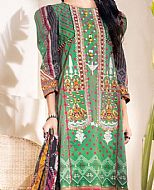Green Cambric Suit- Pakistani Winter Clothing