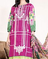 Hot Pink Cambric Suit- Pakistani Winter Dress