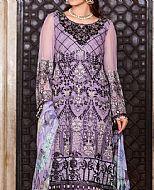 Lilac Chiffon Suit- Pakistani Designer Chiffon Suit