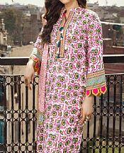 Hot Pink/White Lawn Suit- Pakistani Lawn Dress
