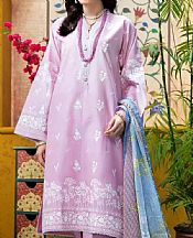 Lilac Lawn Suit- Pakistani Designer Lawn Dress