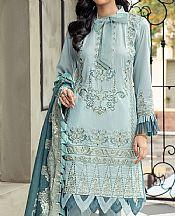 Sky Blue Lawn Suit- Pakistani Lawn Dress