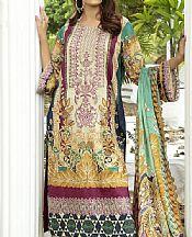 Beige Lawn Suit- Pakistani Designer Lawn Dress