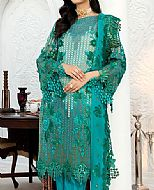 Sea Green Chiffon Suit- Pakistani Designer Chiffon Suit