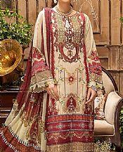 Tan Lawn Suit- Pakistani Designer Lawn Dress