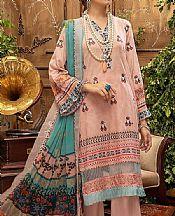 Baby Pink Lawn Suit- Pakistani Designer Lawn Dress