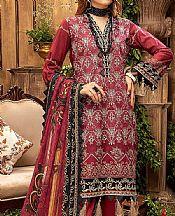 Crimson Lawn Suit- Pakistani Designer Lawn Dress