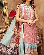Tea Pink Lawn Suit- Pakistani Lawn Dress