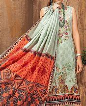 Pistachio Lawn Suit- Pakistani Designer Lawn Dress