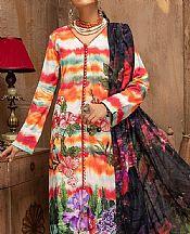 Multicolor Lawn Suit- Pakistani Lawn Dress