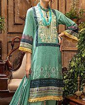 Mint Green Lawn Suit- Pakistani Lawn Dress