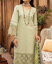 Pistachio Green Lawn Suit- Pakistani Lawn Dress