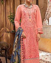 Coral Lawn Suit- Pakistani Designer Lawn Dress