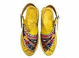 Ladies Chappal- Multicolor- Pakistani Khussa Shoes