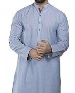 Sky Blue Men Shalwar Kameez